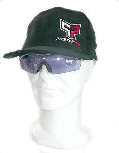 PITSTERPRO Casquette Officielle Hat Collector FlexFit Black Noir PITBIKE