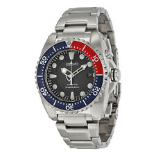 Seiko Prospex Blue Dial Stainless Steel Kinetic Dive Mens Watch SKA369