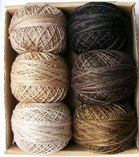 Valdani Perle Cotton size 12 Essential Neutral Collection