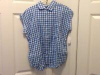 NWT NEW Women's CJ Breeze Size LG. SleevelesTop Shirt Blouse Casual Work Clothes