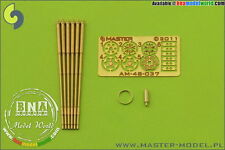 Master Model 1/48 M61 A1 Vulcan 6-Barrelled Rotary 2cm Cannon Turned Barrels