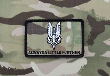 22 SAS Always A Little Further Multicam Morale Patch UKSF Hereford Pilgrims