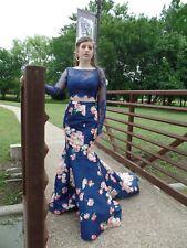 Sherri Hill 2 piece prom dress size 4 worn once