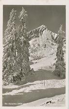 Ak Alpspitze im Schnee, Deutsche Heimatbilder Olympiaort Garmisch 1943