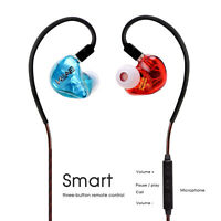 BASN Tempos+V Earbuds Dynamic HIFI Monitor Noise Reduction In Ear Earphone IEMs