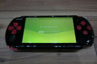 Sony PSP 3000 console BlackxRed Japan m491