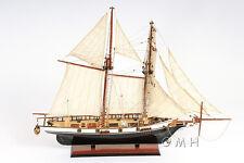 3 Ft Long Harvey Painted Handmade Wooden Ship Model