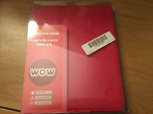 WOW Protective Cover for IPAD 2 and IPAD 3 Red