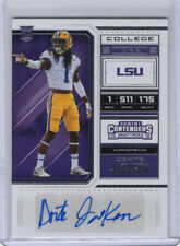 DONTE JACKSON LSU CAROLINA PANTHERS 2018 CONTENDERS AUTOGRAPH AUTO RC #297