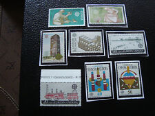 ESPAGNE - 8  timbres n** (A22) stamp spain