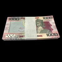 Full bundle Lot 100 PCS, Sierra Leone 1000 Leones, 2013(2016), P-30b, UNC