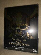 Pirates of the Caribbean Salazars Revenge SteelBook [Blu-ray Region: Free 3D/2D]