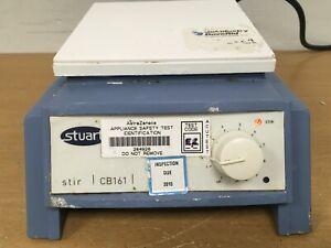 Stuart CB161 Orientation Magnetic Glass Ceramic Plate 100 - 1500 RPM Stirrer /2