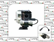 Professional Microphone for GOPRO hero 4 external kit set upgrade lcd edition +