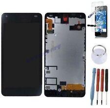 ECRAN LCD + VITRE TACTILE SUR CHASSIS BLOC COMPLETE POUR MICROSOFT LUMIA 550
