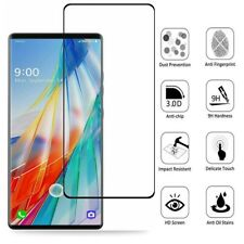 3D Curved Full Coverage For LG Wing 5G Tempered Glass Screen Protector