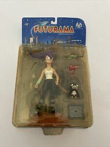 Futurama LEELA - Moore Action Collectibles 2000 - New in Package
