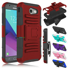 For Samsung Galaxy J3 Emerge 2017/ Luna Pro/ Prime Holster Clip Stand Case Cover