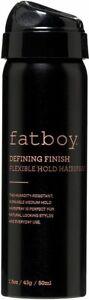 Defining Finish Flexible Hold Hairspray by FatBoy, 1.5 oz