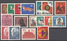 BUNDESPOST - 1967 complete year MNH