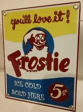 Frostie soda pop beverage  Sign...#5