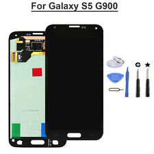Black LCD Touch Digitizer for Samsung Galaxy S5 G900 Screen replacement+tool NEW
