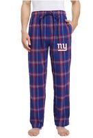 NFL New York Giants Men's Flannel  PJ Lounge Pants Size XL New