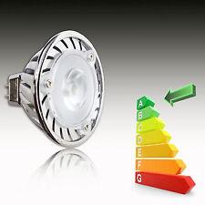 Nuevo Mr16 3w Blanco Brillante Bombilla Led Mr-16 De 12v Bajo Consumo de energía ahorro de 2 Pin Spot