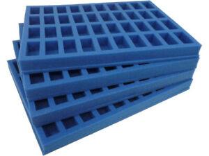 Clearance KR Cases Foam Set For Games Workshop Classic Case 25/28mm Scale GWN4S