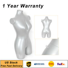 Inflatable Woman Female Whole Body Armless Mannequin Fashion Dummy Torso Clothes