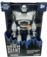"The Iron Giant Figure Walking w/ Lights & Sounds 14"" Exclusive Nib Fast Shipping"