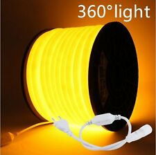 360 Degree Glow waterproof flex LED Neon Rope light strip 220V 2835 tube bar New