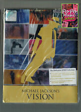 Michael Jackson - Vision ( Deluxe 3 DVD Box Set ) 2010 BRAND NEW Malaysia Ver. 2