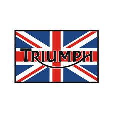 Sticker plastifié TRIUMPH UNION JACK Bonneville Thruxton Street - 5cm x 8cm