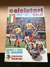 CALCIATORI 1976/77 PANINI 1976 1977 Italy Sticker Album  - 100% Empty Vuoto #1
