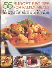 55 Budget Dishes for Family Meals: Delicious, nutritious and economica-ExLibrary
