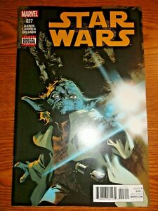 Star Wars #27 Jason Aaron Yoda Cover Key VF- Jedi Master 1st Print Marvel