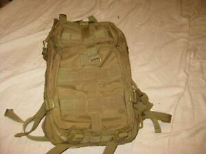 CONDOR COMPACT MODULAR STYLE ASSAULT PACK HIKING CAMPING COYOTE NEAR MINT