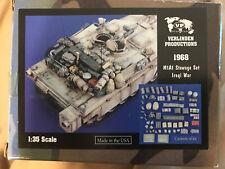 Verlinden 1/35 M1A1 Abrams Tank Stowage & Accessories Set Iraq War Set #1968