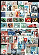 East-Germany/DDR/GDR: All stamps of 1973 in a year set complete, MNH