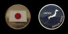 JAPAN COUNTRY CHALLENGE COIN MILITARY COLLECTIBLE COINS NEW