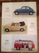 Rara Pubblicità' VOLKSWAGEN VW Limousine Export/Cabriolet/Transporter 1959