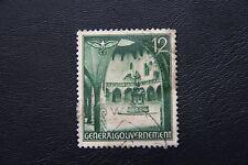 Generalgouvernement, Gebäude, 12 Pfg grün (gestempelt)