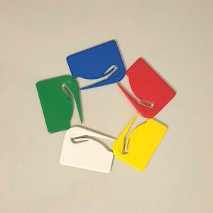 Lot of 5 Plastic Envelope Letter Opener Mail Office Cutter Slitter Bulk