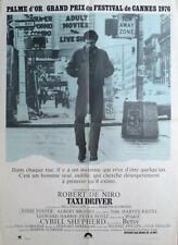 Taxi Driver - Scorsese / De Niro / Foster - Car / Taxi - Original Movie Poster