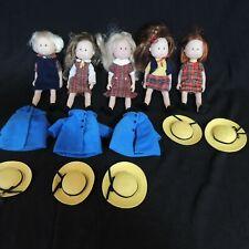 5 Madeline Dolls w/ Outfits Rare Nona, Nicole Chloe Danielle + More