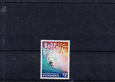 Micronesia 2014 Mnh body boarding 1v Set Sports Bodyboard