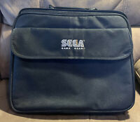 Official Genuine Sega Game Gear Black Deluxe Carrying Travel Bag With Insert