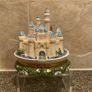 Disney Disneyland Castle Trinket Box Tinkerbell Inside Malaysia