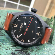 Christopher Ward C8 Flyer V1 Pilots DLC Quartz Wrist Watch 44mm